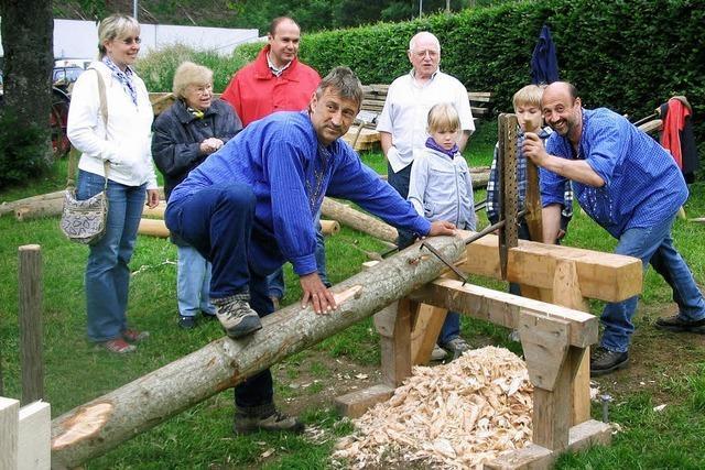 Wie die Handwerker früher arbeiteten