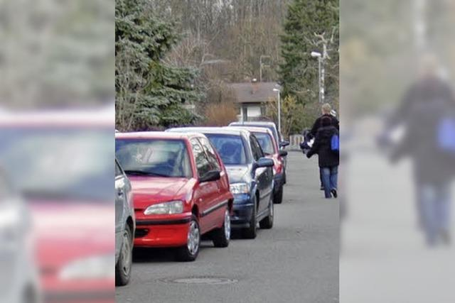Ohne Parkverbot geht es leider nicht
