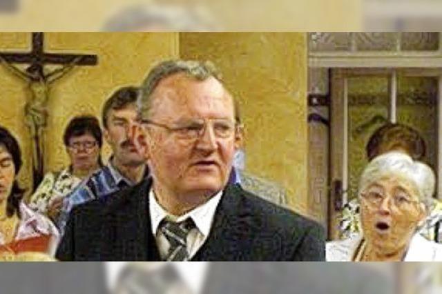Joseph Dorbath heißt der neue Pfarrer