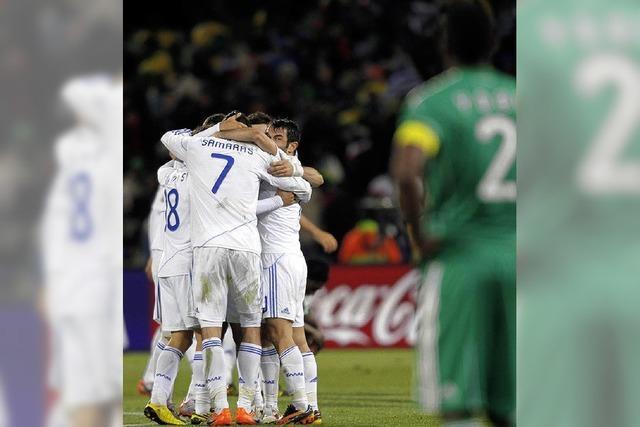 Rehhagel muss nun Argentinien besiegen