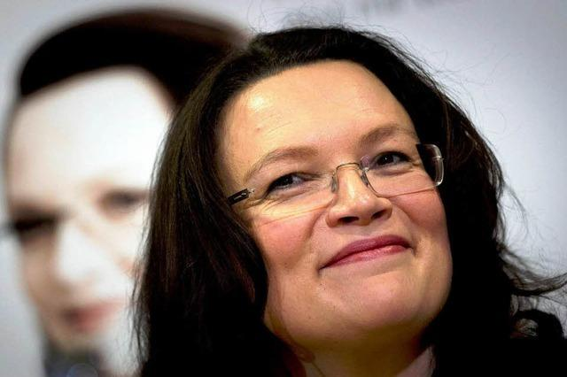 Andrea Nahles kommt nach Weil