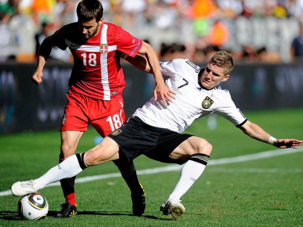 Fussball Deutschland Serbien