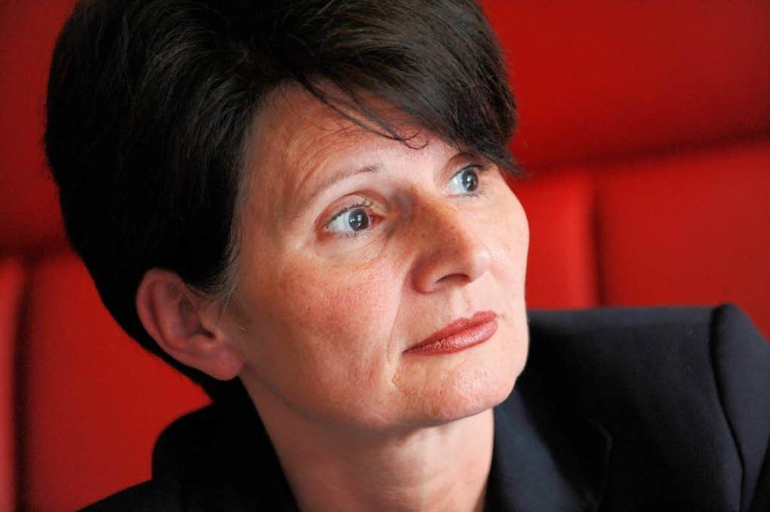 "Kultusministerin Marion Schick: &#8222...nun bei den Hauptpersonalräten.""    Foto: dpa"