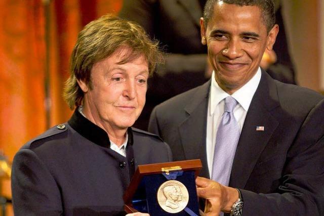 Paul McCartney mit Preis ausgezeichnet