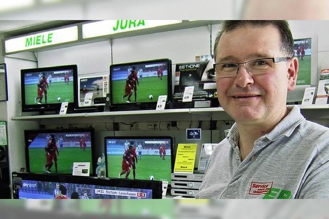 Tipp-Kick-Turnier mit WM-TV