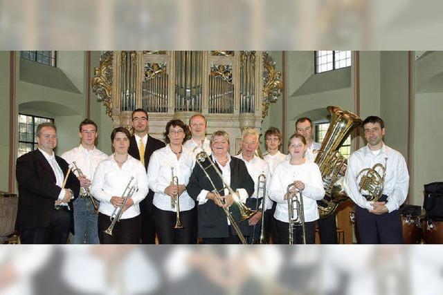Trompetenklang erfüllt die Kirche