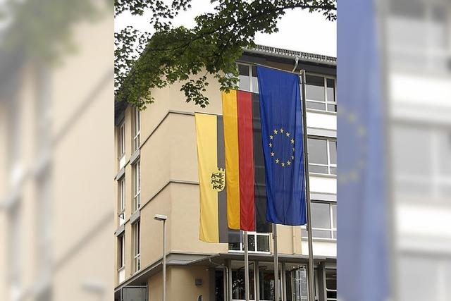 Finanzamt zeigt Flagge