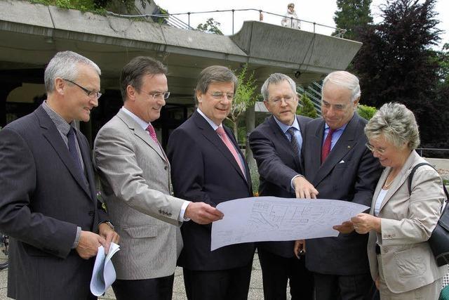 Land saniert das Kurhaus Badenweiler