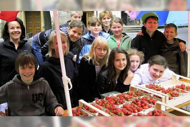 Süße Früchte helfen den Kindern auf Haiti