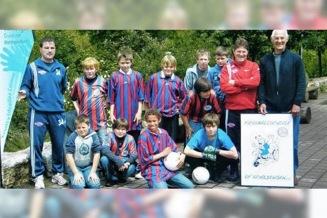 Hebelschule kooperiert mit Fußballschule
