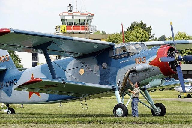 Antonov sucht das Weite