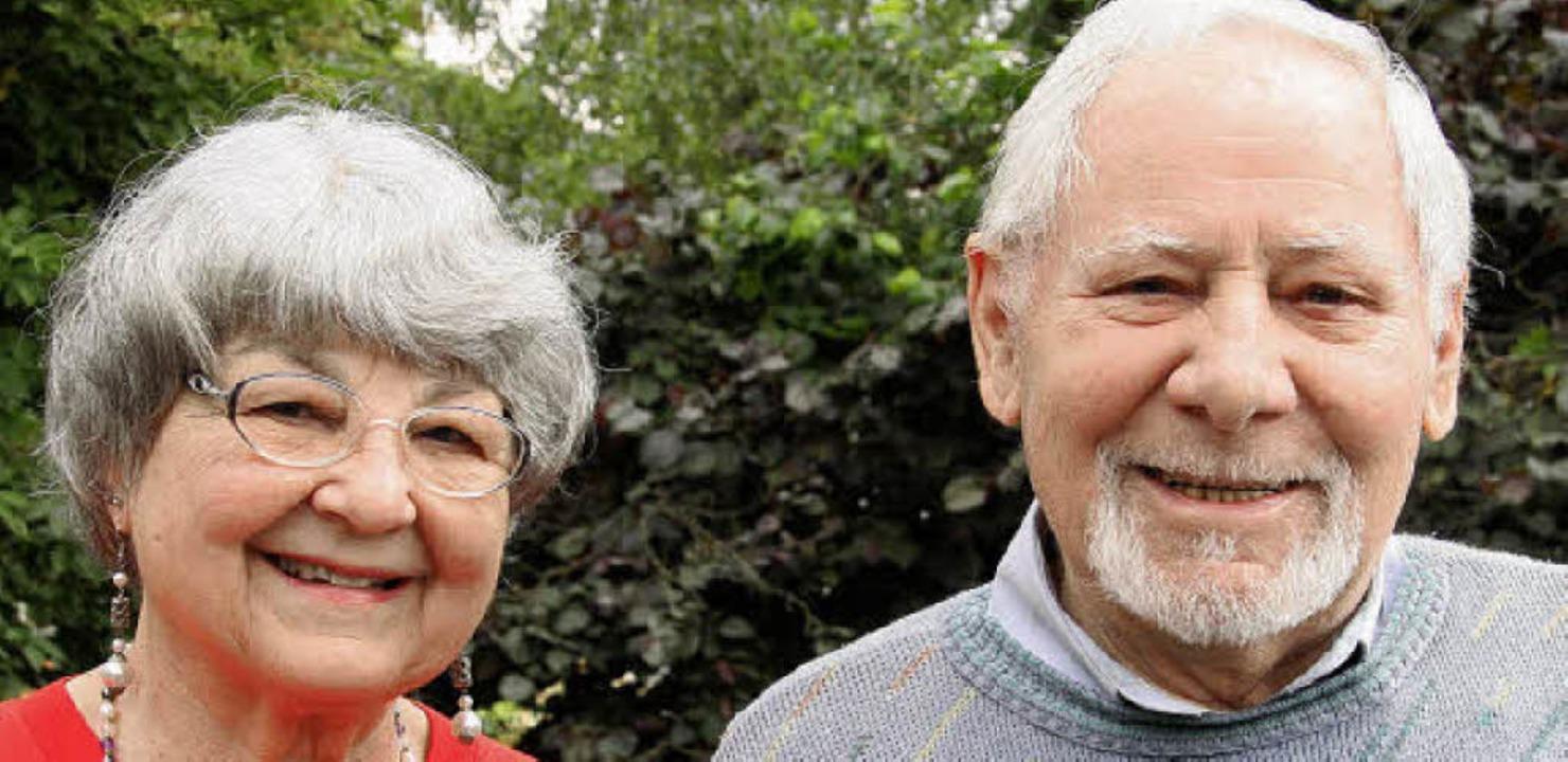 Yvonne und Werner Richter feiern heute...ohannimärt 1960 haben sie geheiratet.   | Foto: Martina Weber-Kroker