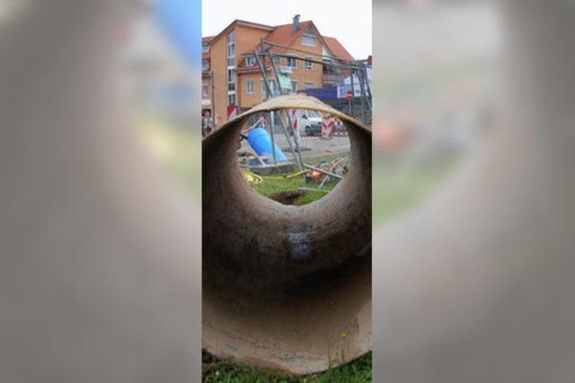 Microtunnel unter der Stadt