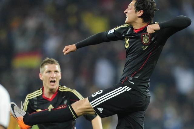 Deutschland gewinnt gegen Ghana 1:0