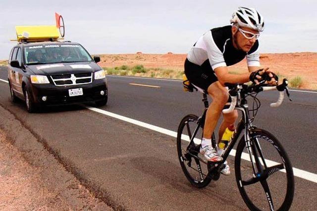 Vörstettener schafft das wohl härteste Radrennen der Welt