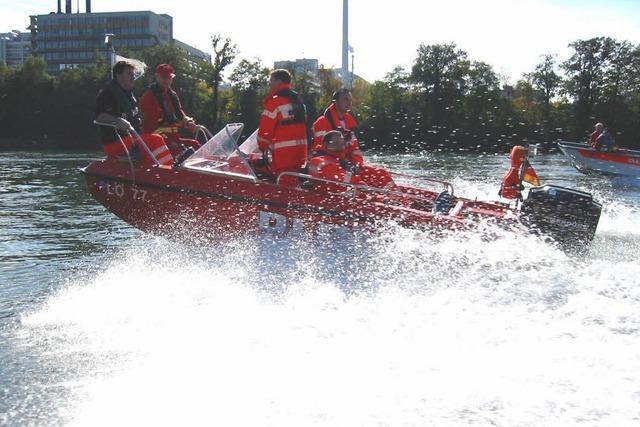 Mann flüchtet vor Polizei in den Rhein – und ertrinkt?