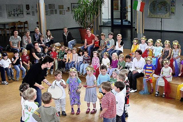 Vuvuzela-Klänge im Kindergarten
