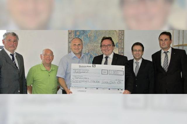 14 500 Euro für die Hochwasserhilfe