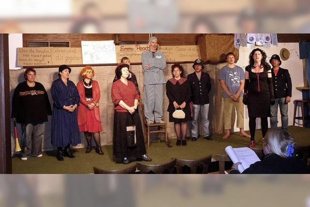 Brecht-Stück in Hofsgrund