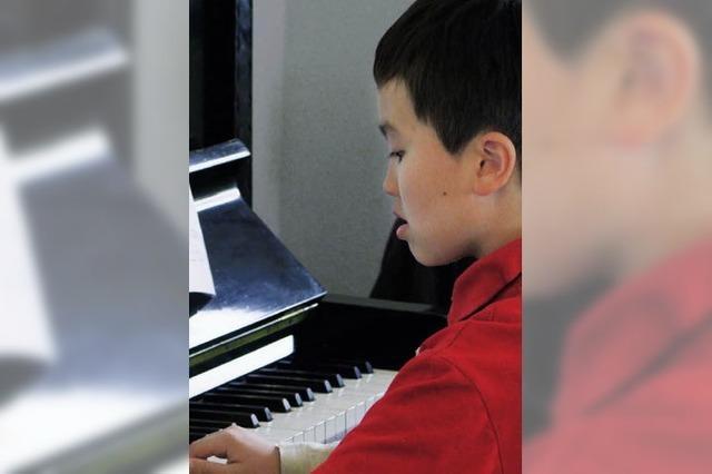 Junge Musiker kaum zu bremsen