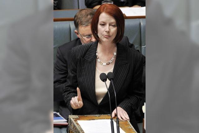 Australien hat eine Regierungschefin