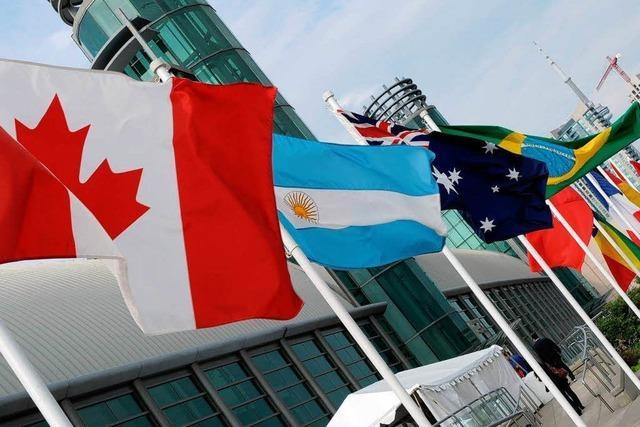 G-20-Gipfel diskutiert über Finanzmarktregulierung
