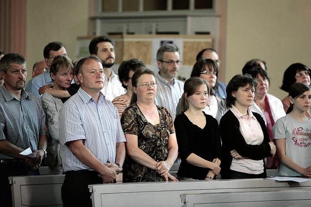 Die Kirche spendet Trost