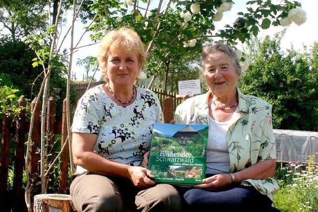 Bürchauer Bauerngarten in einem Buch verewigt