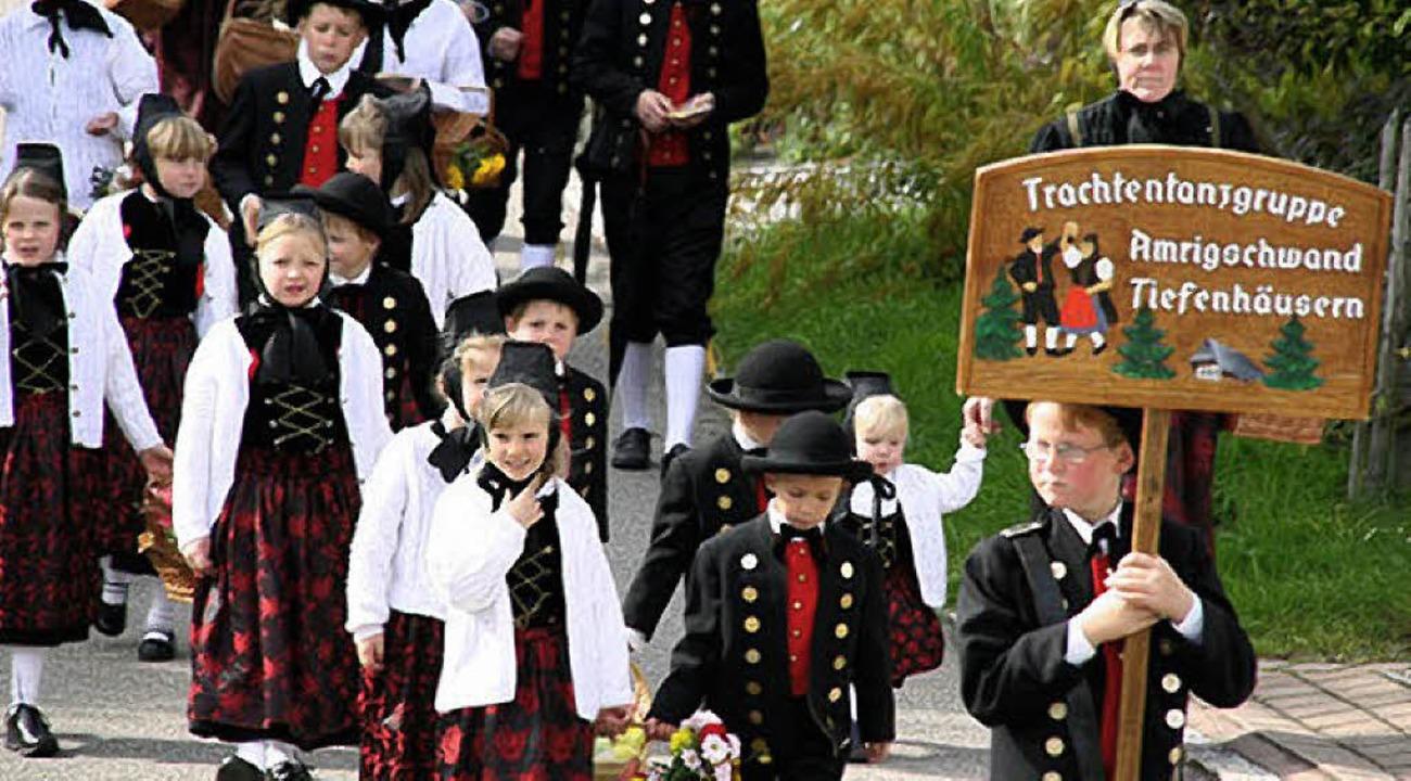 … und Trachten können am Sonntag in Rickenbach erlebt werden.  | Foto: Peter Schütz