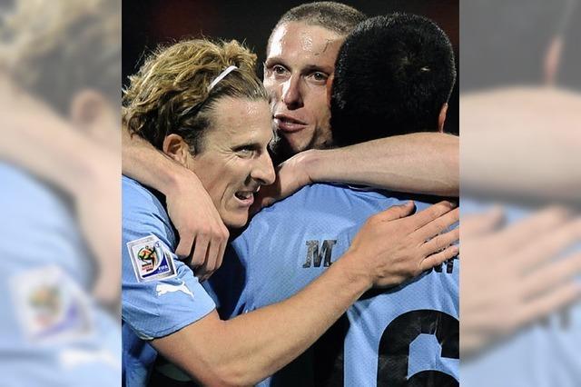 Uruguays Spieler fangen an zu träumen