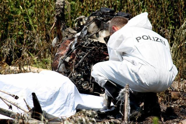 Konstanz: Zwei Menschen sterben bei Flugzeugabsturz