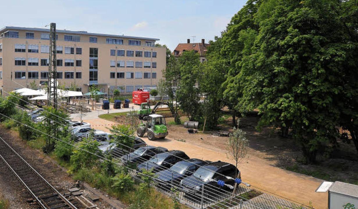 Der Bürgerverein Stühlinger hält das d...chts) aber für den besseren Standort.   | Foto: Michael Bamberger