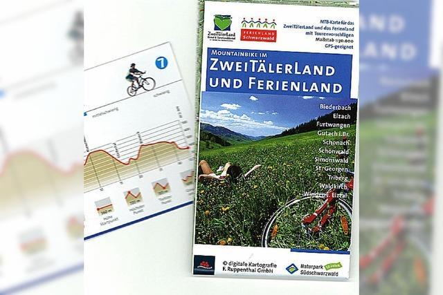 Neue Karte fürs Biken am Berg
