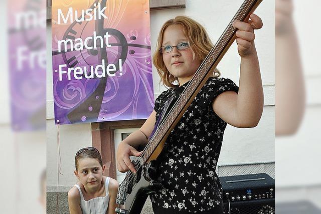 Die Musikschule feiert ihr sommerliches Familienfest