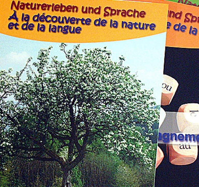 Zweisprachige Materialhefte gibt es be...-französisches Umweltbildungsprojekt.   | Foto: Privat