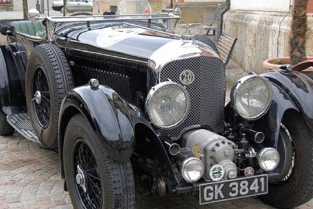 Ganz seltene Exemplare beim Bentley-Treffen