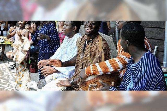 Heißes Wochenende: Tag der Musik und Afrikatag