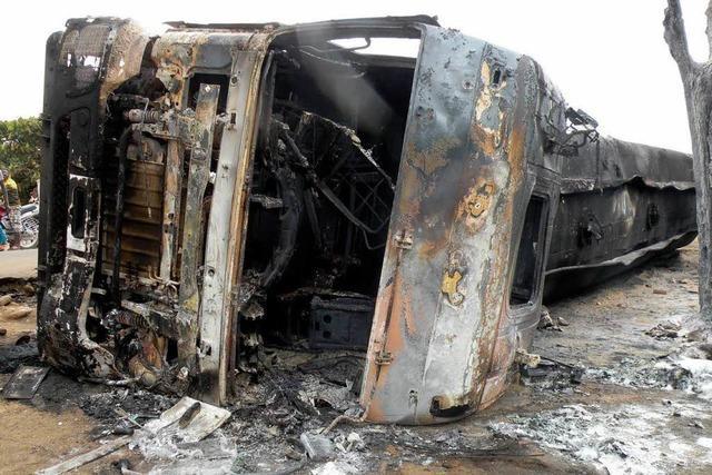 Tanklaster explodiert – mehr als 230 Tote