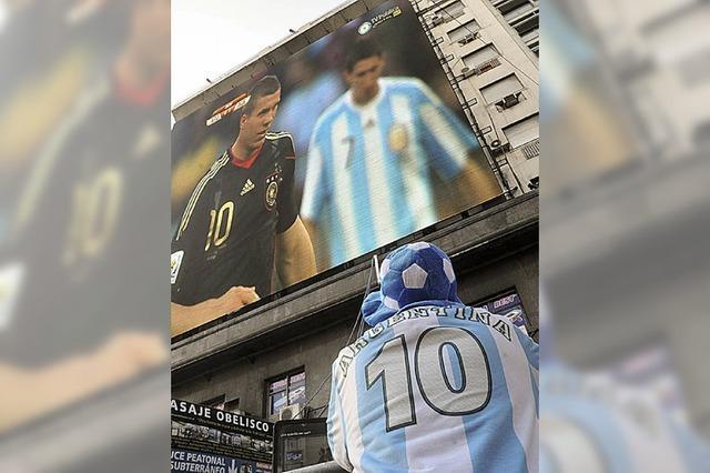 Argentinien weint sich die Augen wund