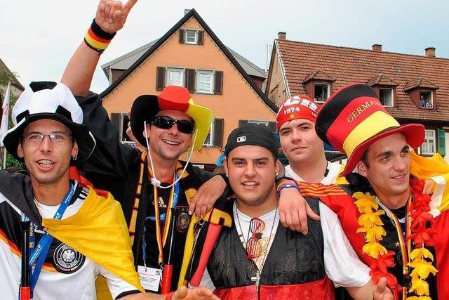 Offenburg feiert: Public Viewing ohne harten Alkohol