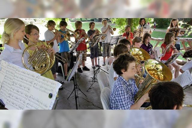 Pavillon im Stadtgarten strahlt musikalisch aus
