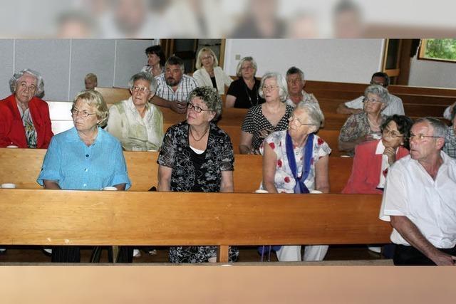 Kirche dünnt ländlichen Raum aus