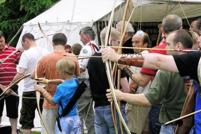 Bogensportler belagern das Eisenbacher Untertal