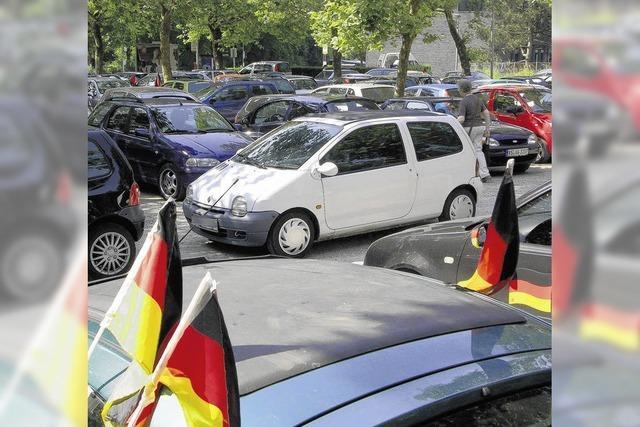 Raue Sitten beim Parken