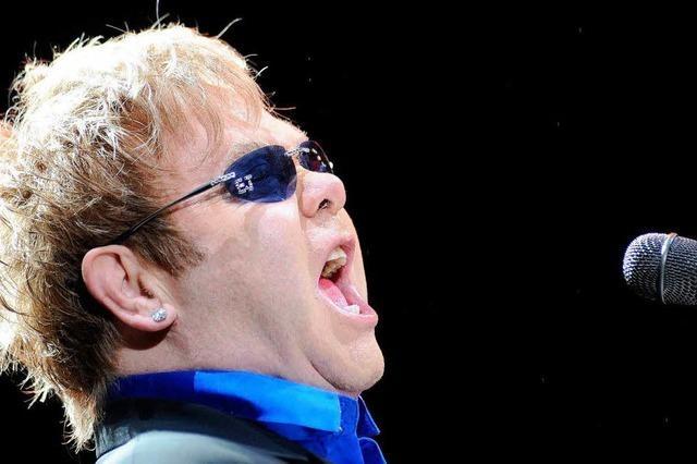 Elton John in Straßburg