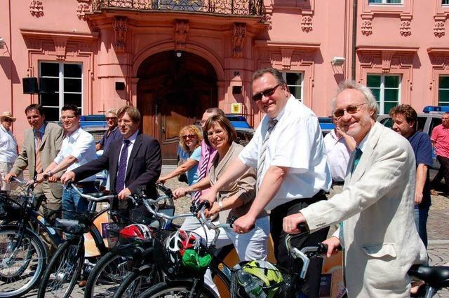 Offenburg startet öffentlichen Fahrradverleih