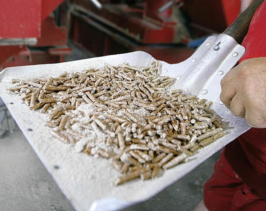 Pellets aus der Ettenheimer Produktion.  | Foto: Heidi Foessel