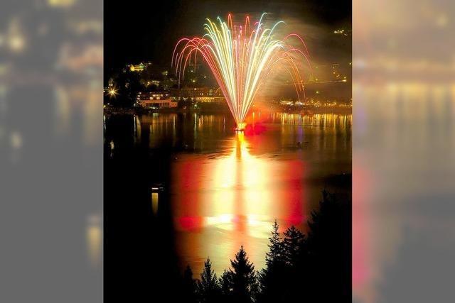 Das erste Seenachtsfest des Jahres am Titisee