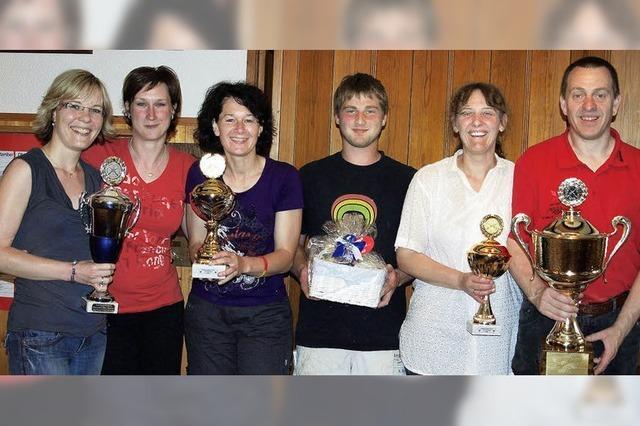 Scharf-Schützinnen holen den Pokal