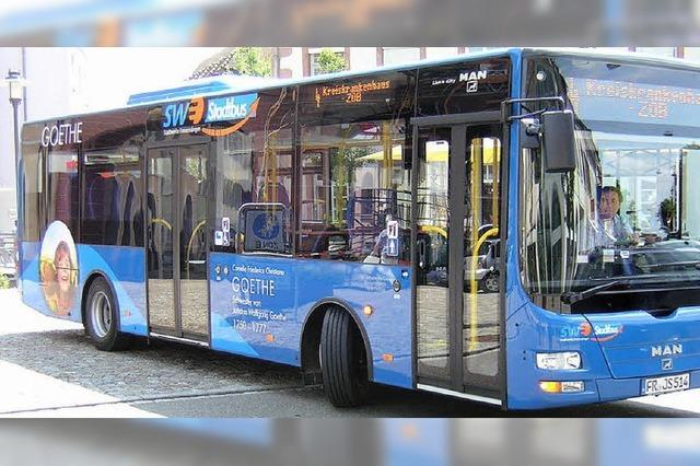 Neue Stadtbusse sind mit umweltschonendem Antrieb unterwegs